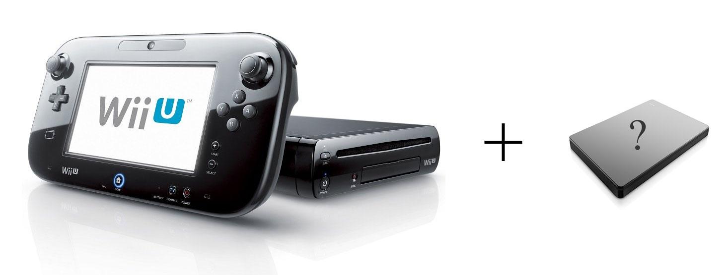 Wii U Some Hard Drive