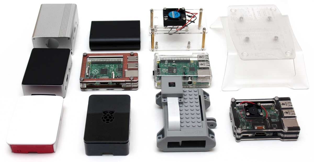 12 Raspberry Pi 2 Amp 3 Model B Cases Compared And