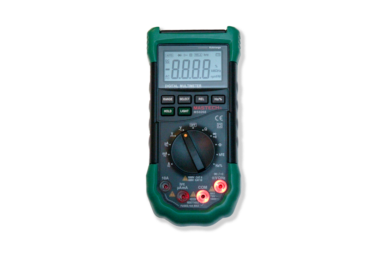 Best Beginners Auto Ranging Digital Multimeters Dmms Compared And Lcd Ac Dc Voltage Continuity Circuit Tester Ta Ebay Mastech On